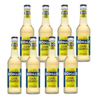 Bionade Zitrone-Bergamotte 8 Flaschen je 0,33l