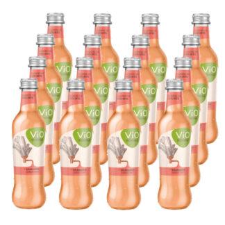 ViO Schorle Rhabarber 16 Flaschen je 0,3l