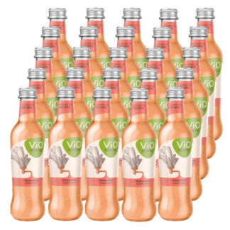 ViO Schorle Rhabarber 25 Flaschen je 0,3l