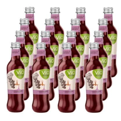 ViO Schorle Schwarze Johannisbeere 16 Flaschen je 0,3l