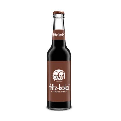 fritz-kola Karamell-Kaffee 0,33l Flasche