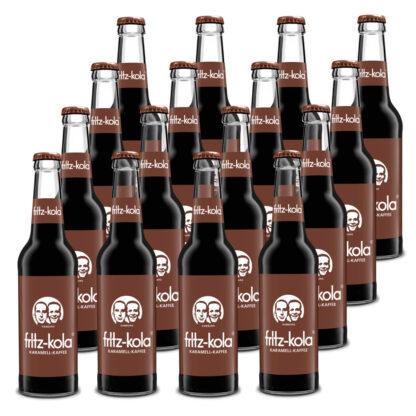 fritz-kola Karamell-Kaffee 16 Flaschen je 0,33l