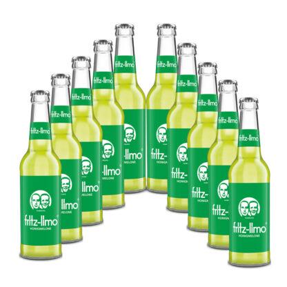 fritz-limo Honigmelone 10 Flaschen je 0,33l