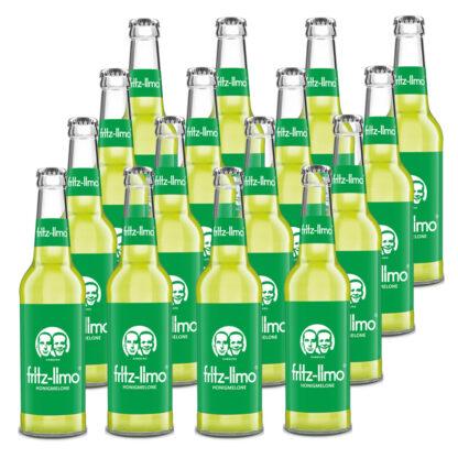fritz-limo Honigmelone 16 Flaschen je 0,33l