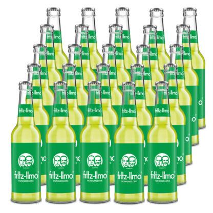 fritz-limo Honigmelone 25 Flaschen je 0,33l