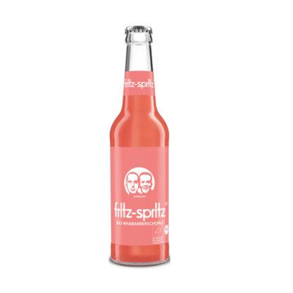 fritz-spritz Bio-Rhabarberschorle 0,33l Flasche