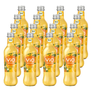 Vio Bio Limo Orange 16 Flaschen je 0,3l