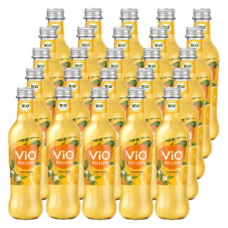 Vio Bio Limo Orange 25 Flaschen je 0,3l
