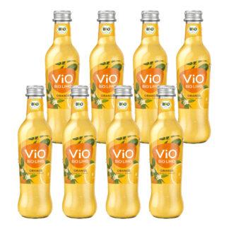 Vio Bio Limo Orange 8 Flaschen je 0,3l