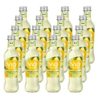 Vio Bio Limo Zitrone & Limette 16 Flaschen je 0,3l
