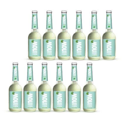 Now Fresh Lemon Bio Limonade by Lammsbräu 12 Flaschen