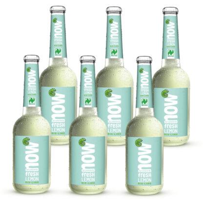 Now Fresh Lemon Bio Limonade by Lammsbräu 6 Flaschen