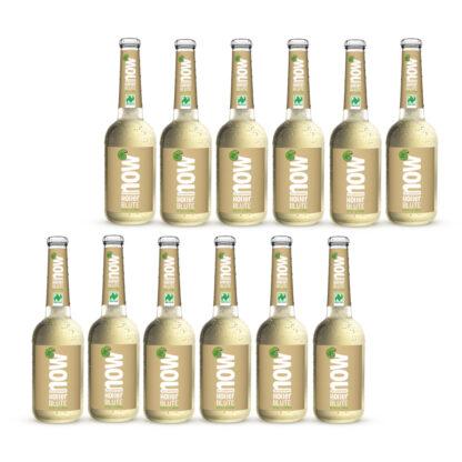 Now Holler Blüte Bio Limonade by Lammsbräu 12 Flaschen