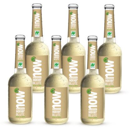 Now Holler Blüte Bio Limonade by Lammsbräu 6 Flaschen
