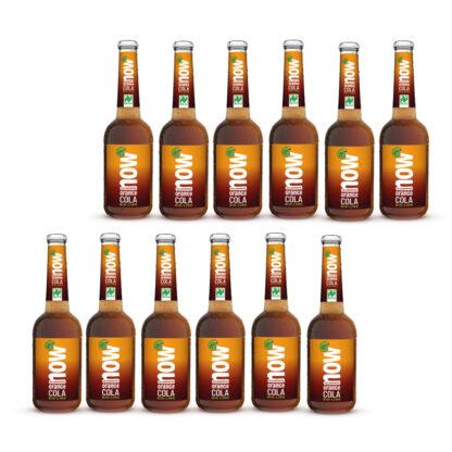 Now Orange Cola Bio Limonade by Lammsbräu 12 Flaschen