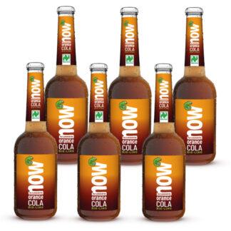 Now Orange Cola Bio Limonade by Lammsbräu 6 Flaschen
