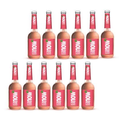 Now Pink Rhabarber Bio Limonade by Lammsbräu 12 Flaschen