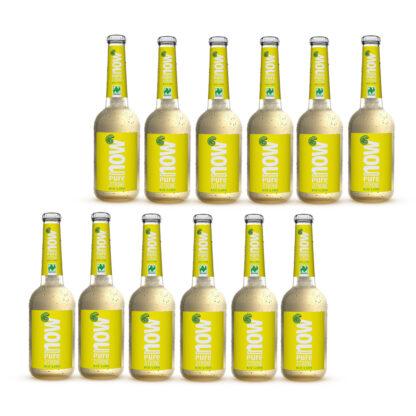 Now Pure Zitrone Bio Limonade by Lammsbräu 12 Flaschen