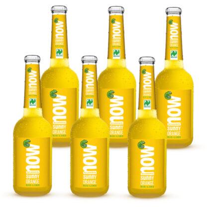 Now Sunny Orange Bio Limonade by Lammsbräu 6 Flaschen