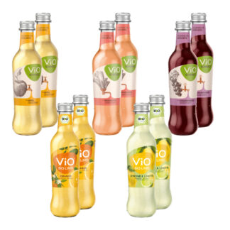 Vio Schole & Bio Limo Probierpaket 10 Flaschen je 0,3l