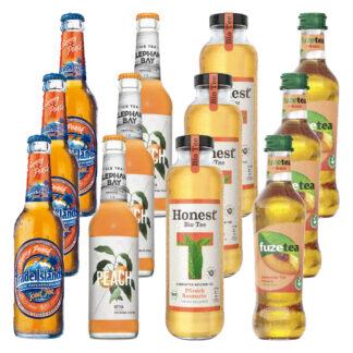 Eistee Pfirsich 12 Flaschen von Trade Islands, Elephant Bay, Hon
