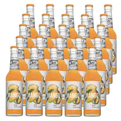 Elephant Bay Ice Tea Mango Pineapple 25 Flaschen je 0,33l