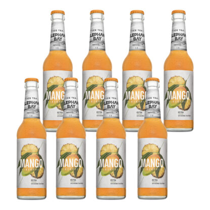 Elephant Bay Ice Tea Mango Pineapple 8 Flaschen je 0,33l