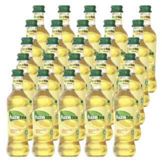 Fuze Tea Schwarzer Tee Zitrone 25 Flaschen je 0,33l