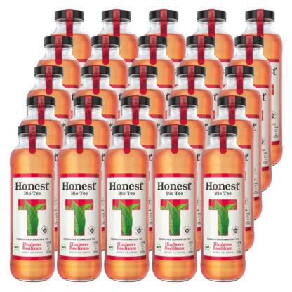 Hontest Bio Tee Himbeere Basilikum 25 Flaschen je 0,33l