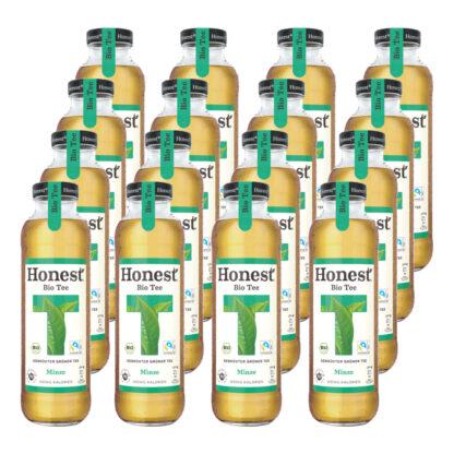 Hontest Bio Tee Minze 16 Flaschen je 0,33l