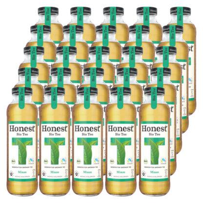 Hontest Bio Tee Minze 25 Flaschen je 0,33l
