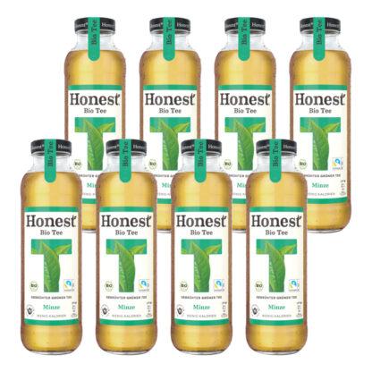 Hontest Bio Tee Minze 8 Flaschen je 0,33l