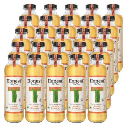 Hontest Bio Tee Pfirsich Rosmarin 25 Flaschen je 0,33l